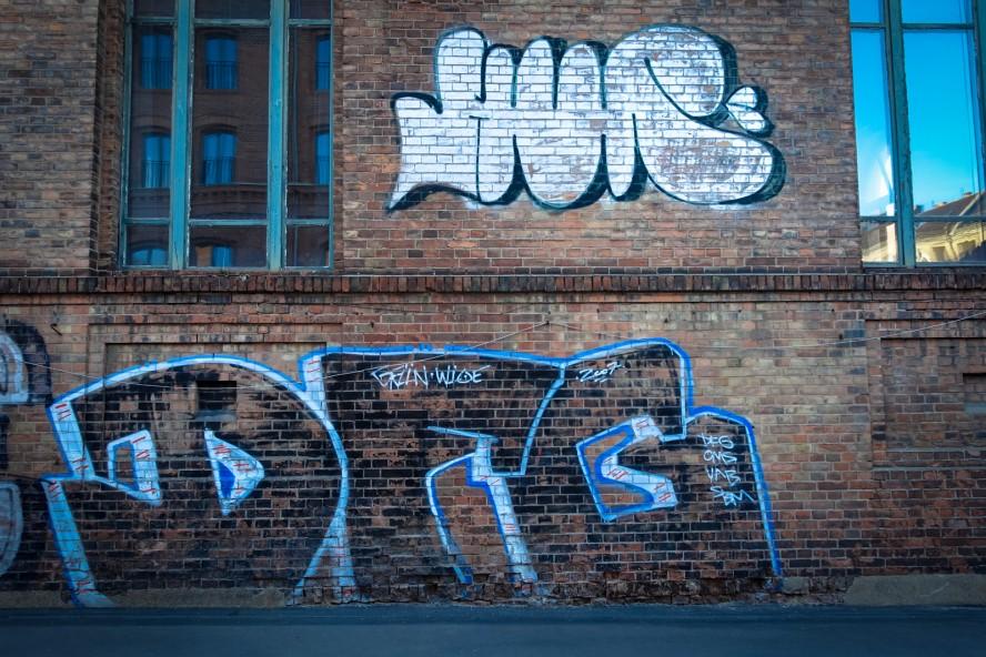 graffiti - dfg / ??? - weissensee