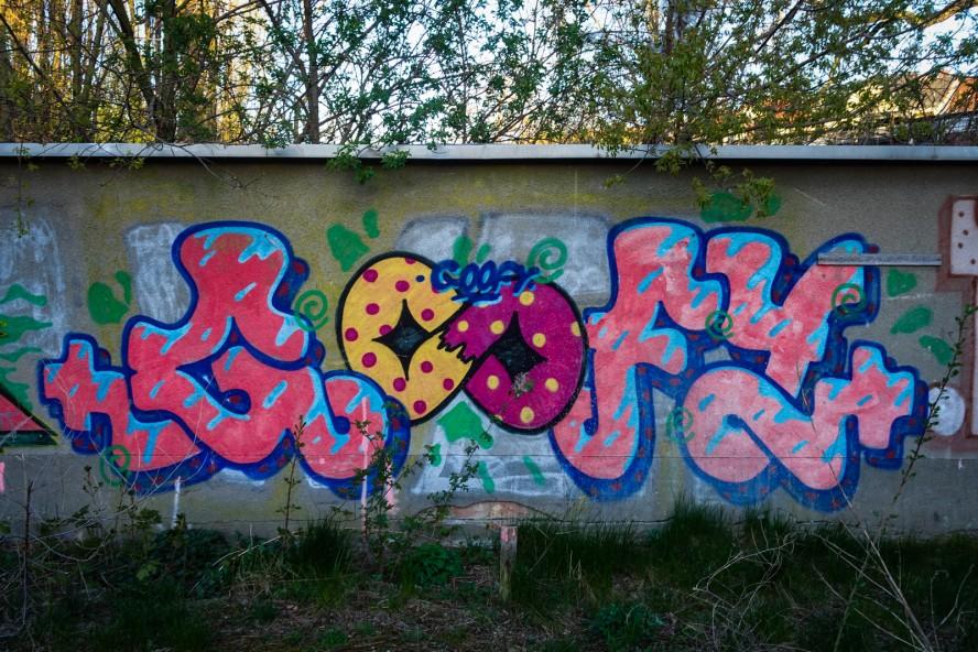 graffiti - goofy - weissensee