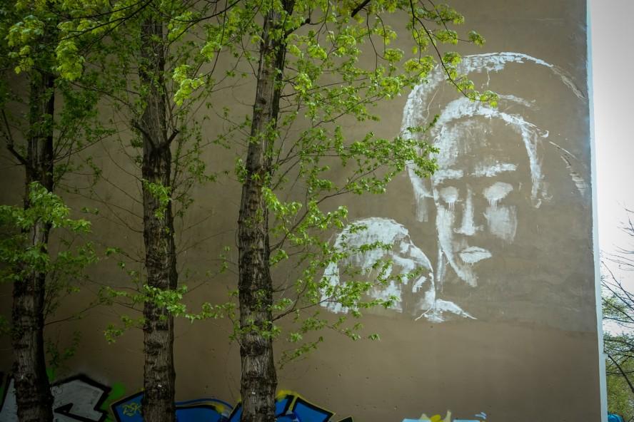 """mural, alaniz """"piedad"""", wiener strasse, berlin kreuzberg"""