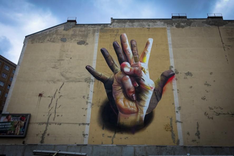 mural - case,  ma'claim - köpenicker strasse, berlin