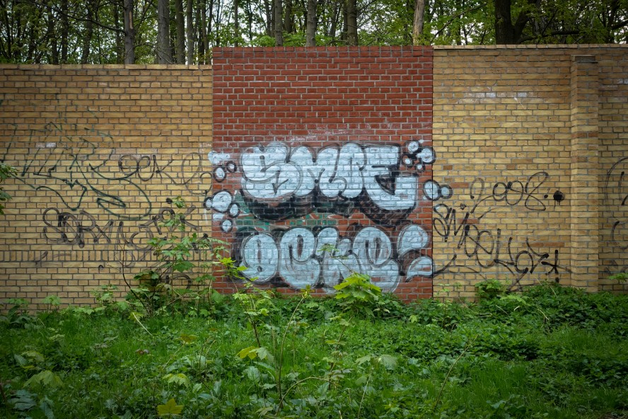 graffiti - leisepark berlin prenzlauerberg