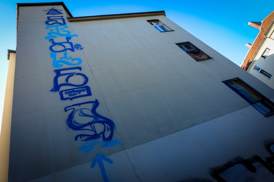graffiti - berlin kids - s-bahn schöneberg, berlin