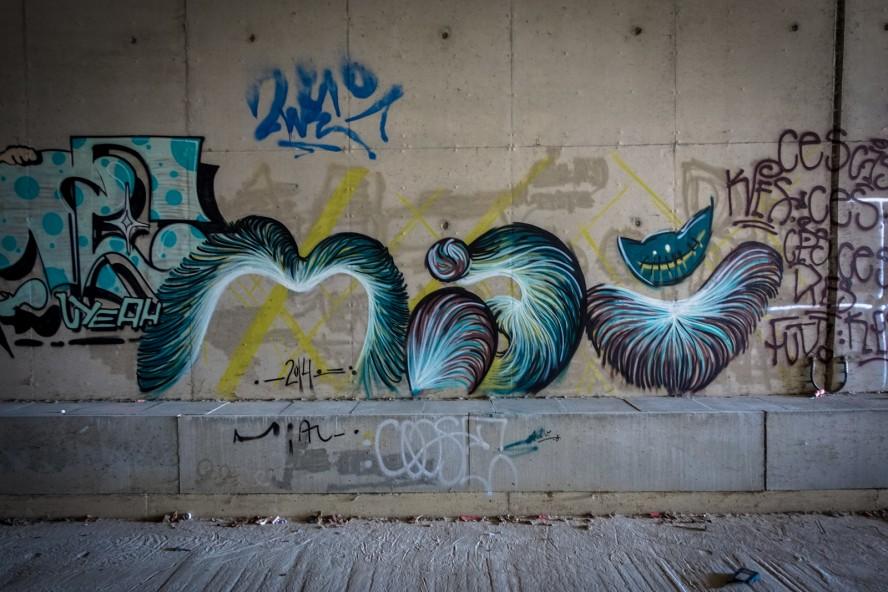 graffiti - miau - berlin