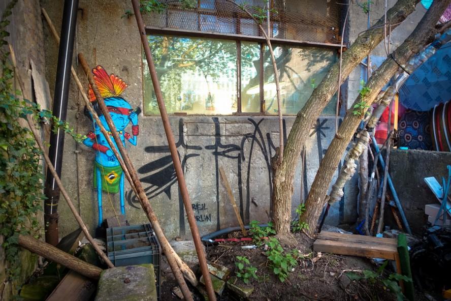 streetart - cranio - yaam, berlin