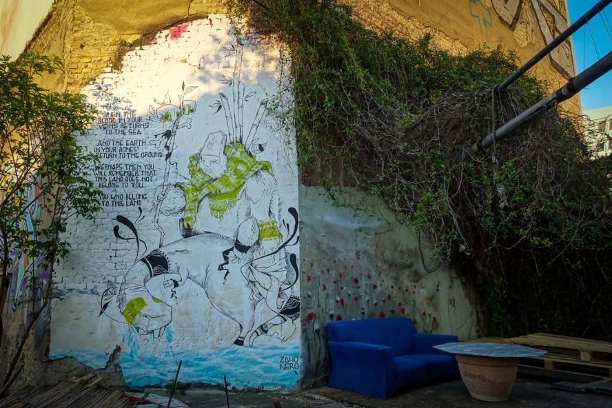 streetart - zaho nero - yaam, berlin