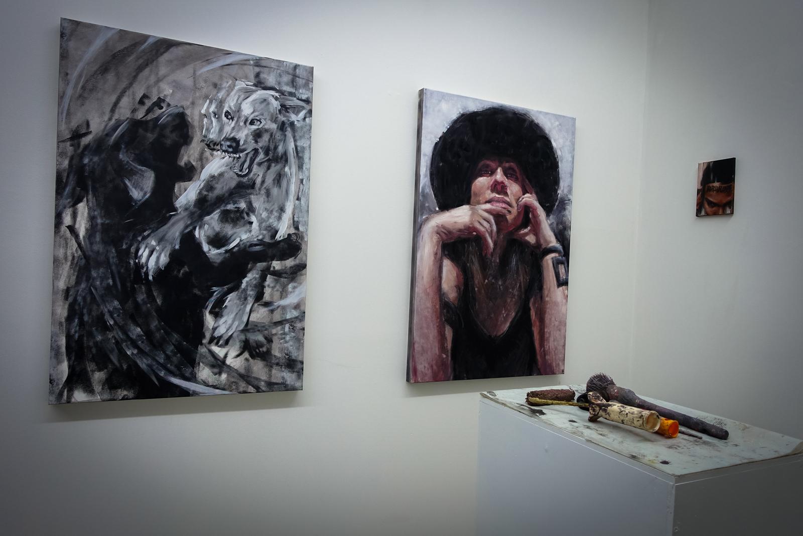 vernissage: alaniz – la calle es un espejo – open walls gallery