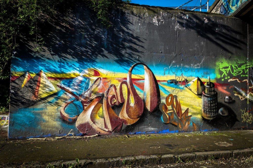 graffiti - prague, hlubočepy