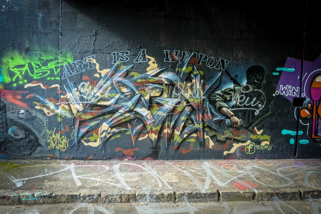 graffiti - real143 - prague, hlubočepy