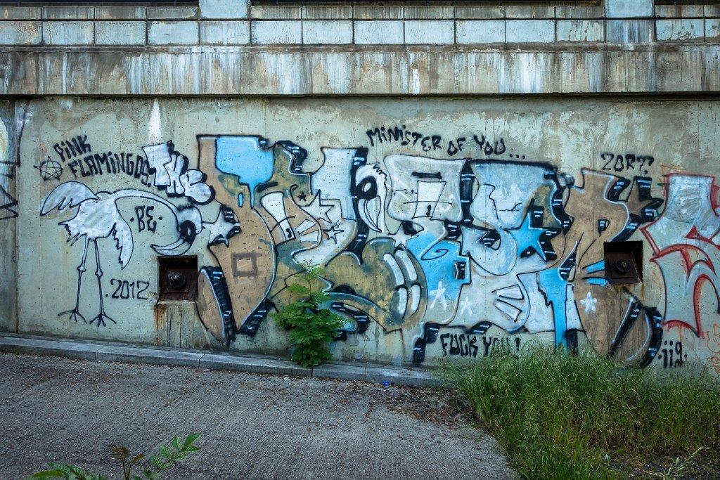 graffiti - prag, husitská