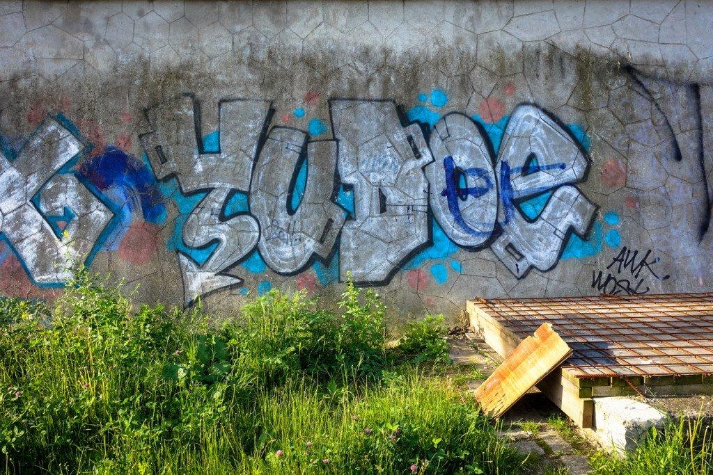 graffiti - yudoe - prag, husitská