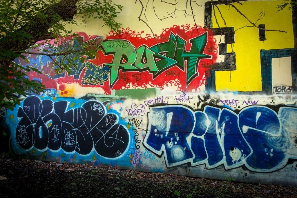 graffiti - rush, rime prag, husitská