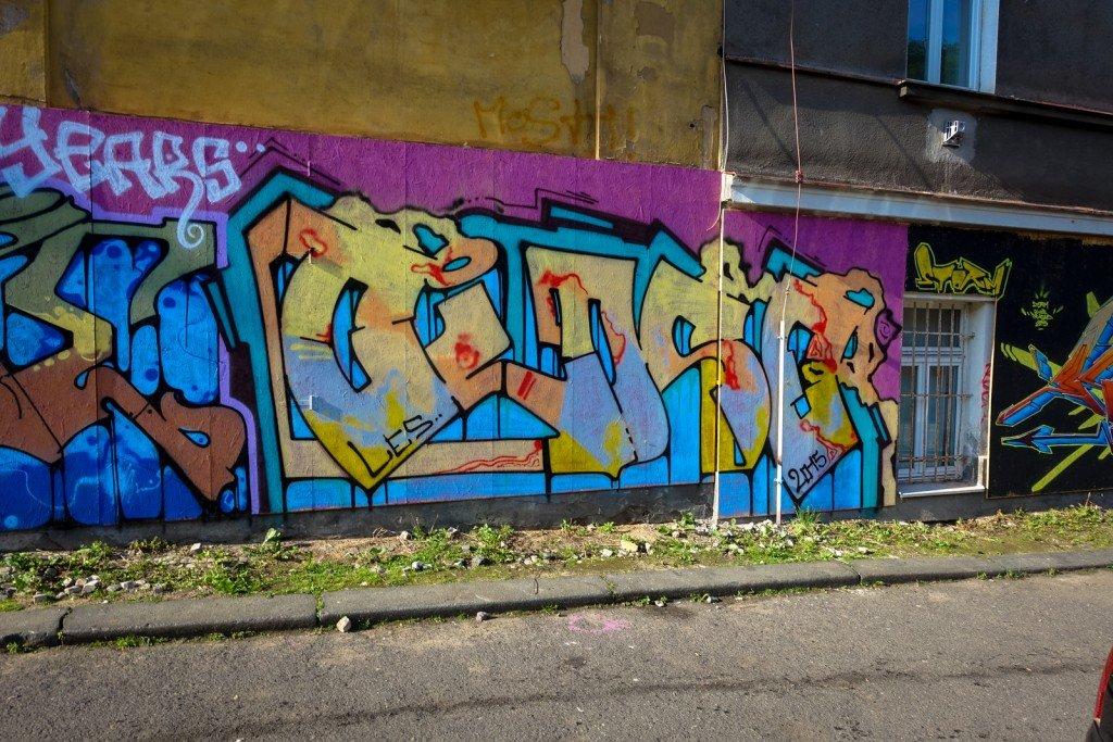 graffiti - prag, husitská - storm club