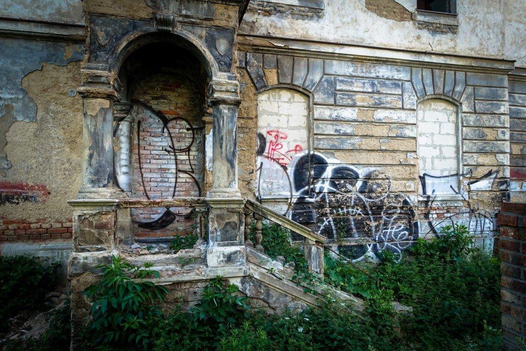 graffiti - gee - prague, milady horákové