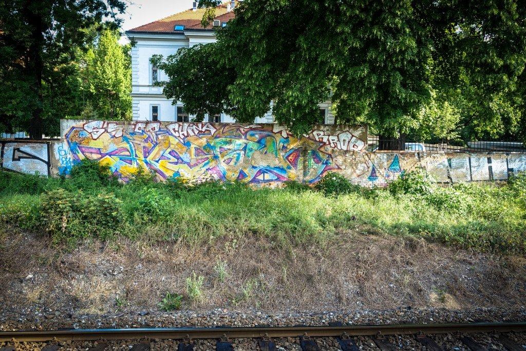 graffiti - prague, milady horákové