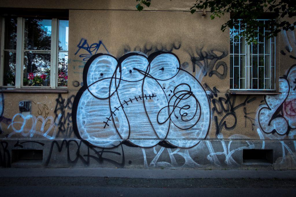 graffiti - gee - prag
