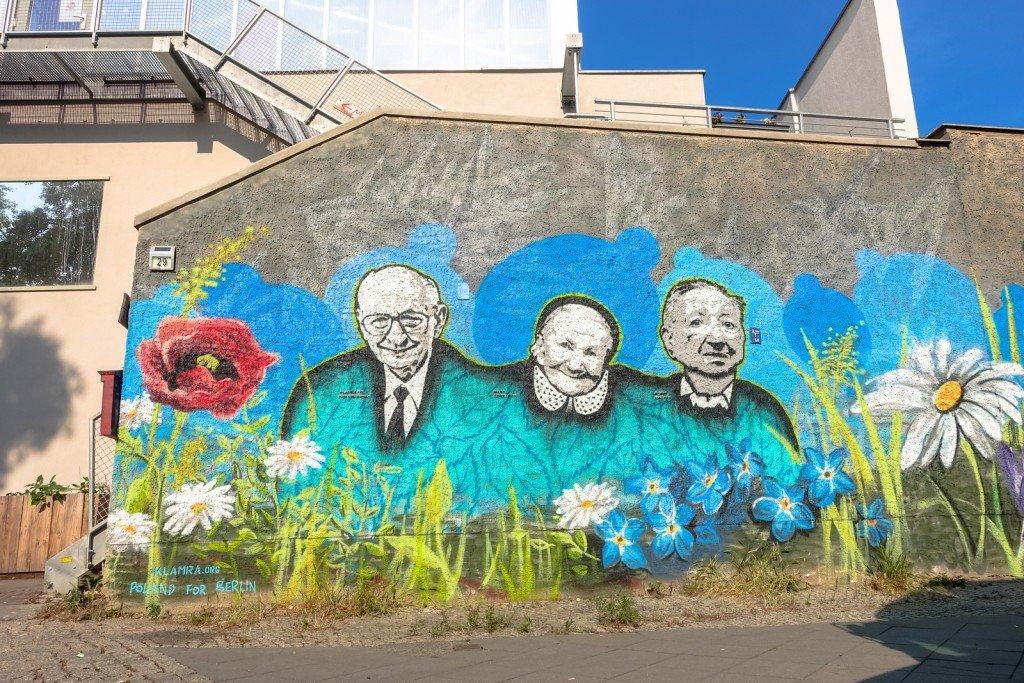 graffiti - klamra - berlin, m29