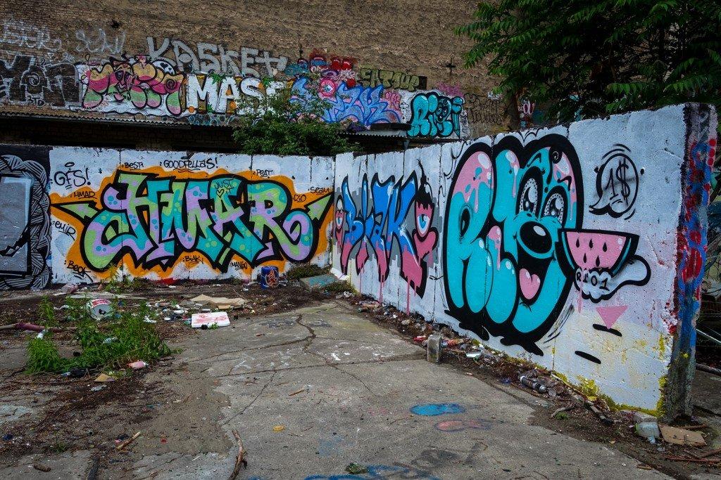 graffiti - hmar, rio - berlin, schönhauserallee