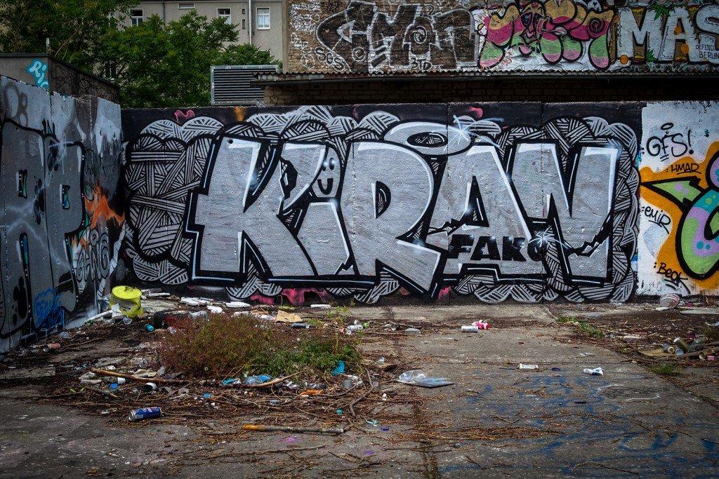 graffiti - kiran - berlin, schönhauser allee