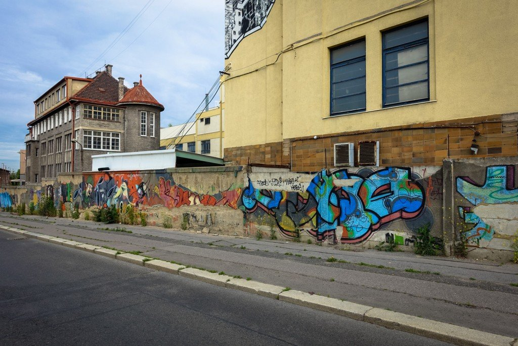 graffiti - prague, ke klíčovu