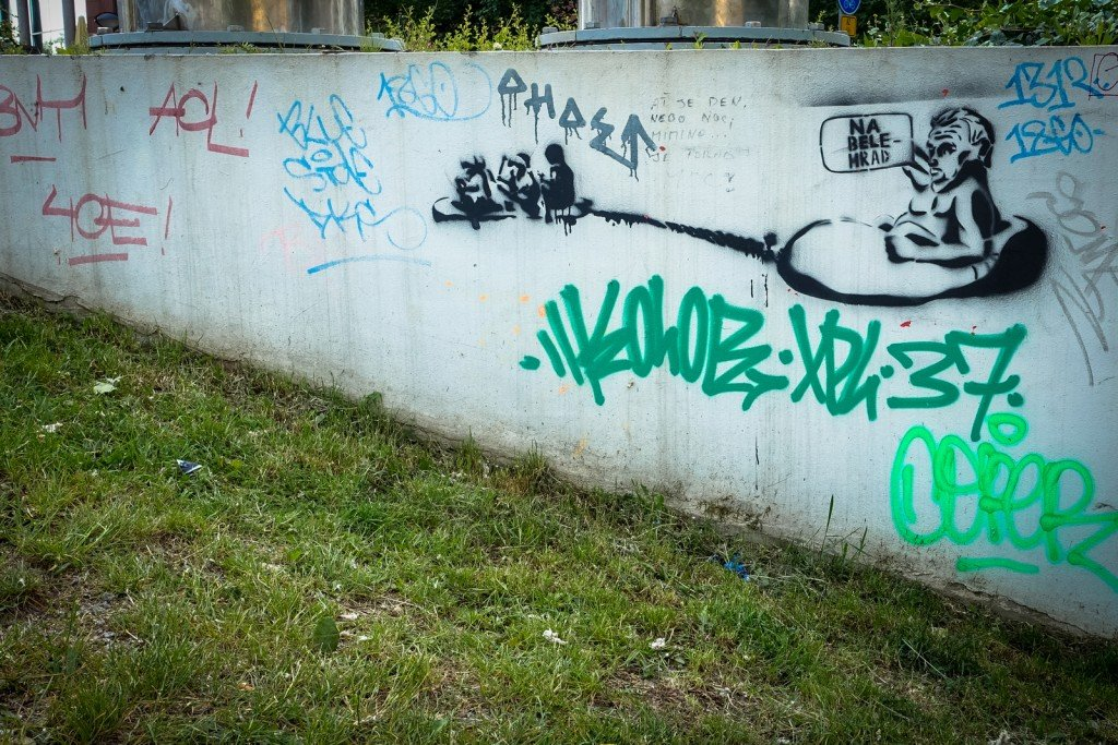 stencil - prague, florenc