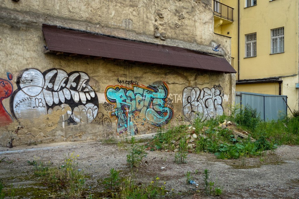 graffiti - gee, roots - prague, florenc