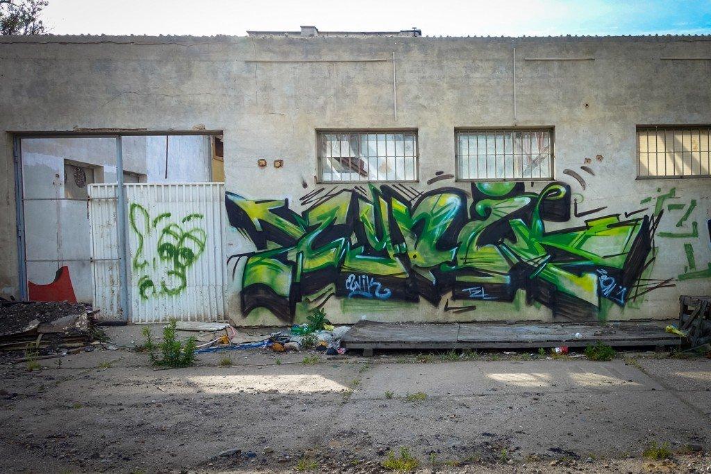 graffiti - cynik - prague, palmovka