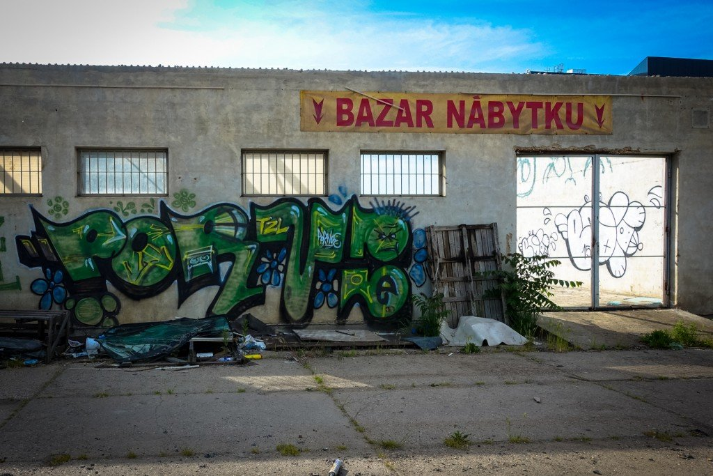graffiti - pornoe - prague, palmovka