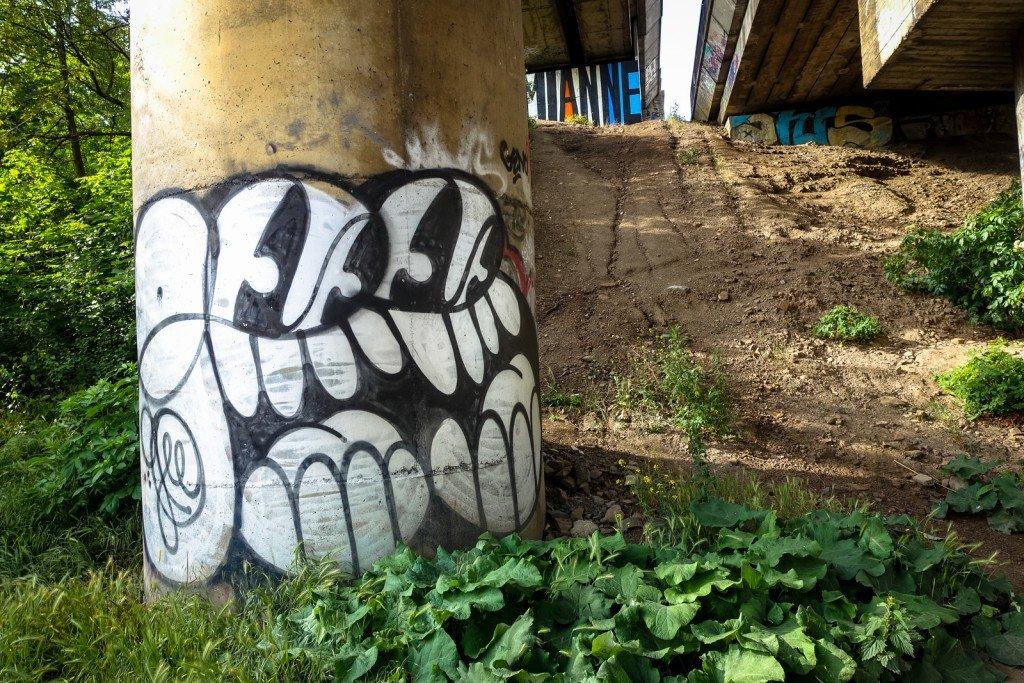 graffiti - gee - prague, palmovka