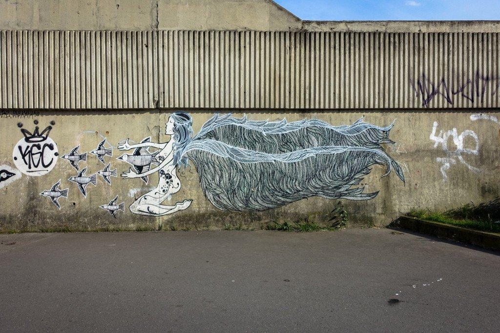 streetart - prague, palmovka