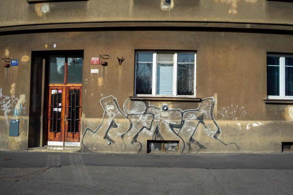 graffiti - prague, palmovka