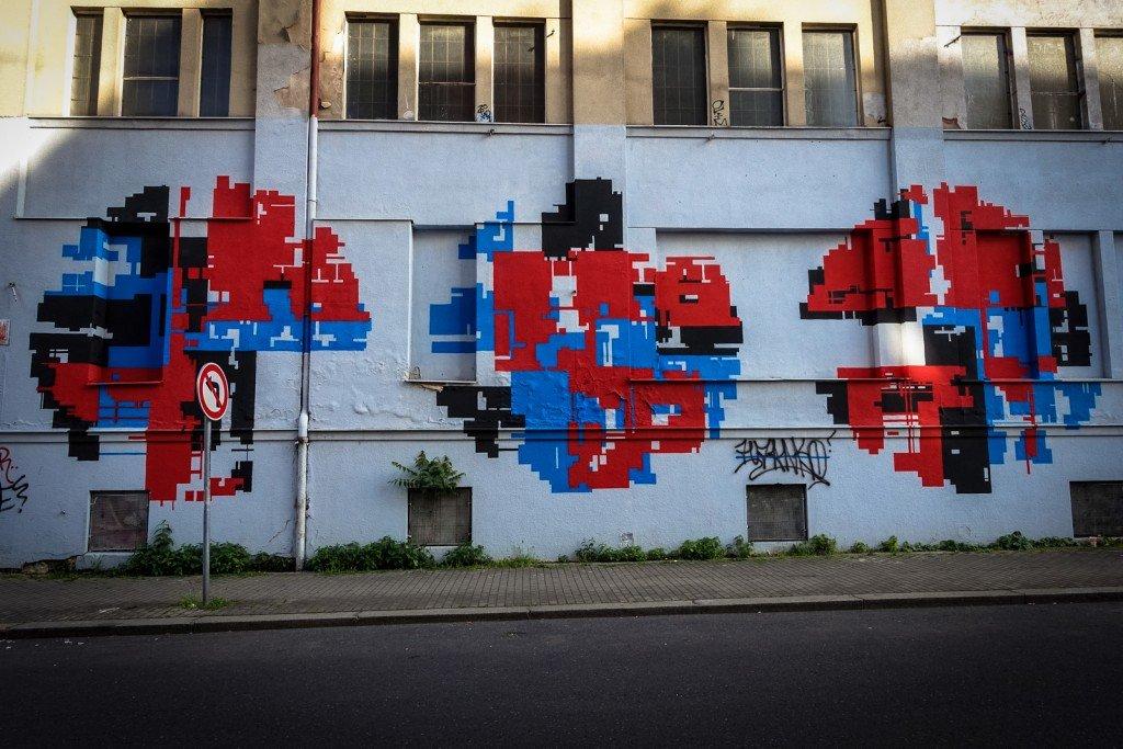 mural - zedz - prague, trafačka
