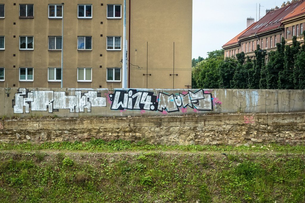 graffiti - mune, wi14 - prague, kolbenova