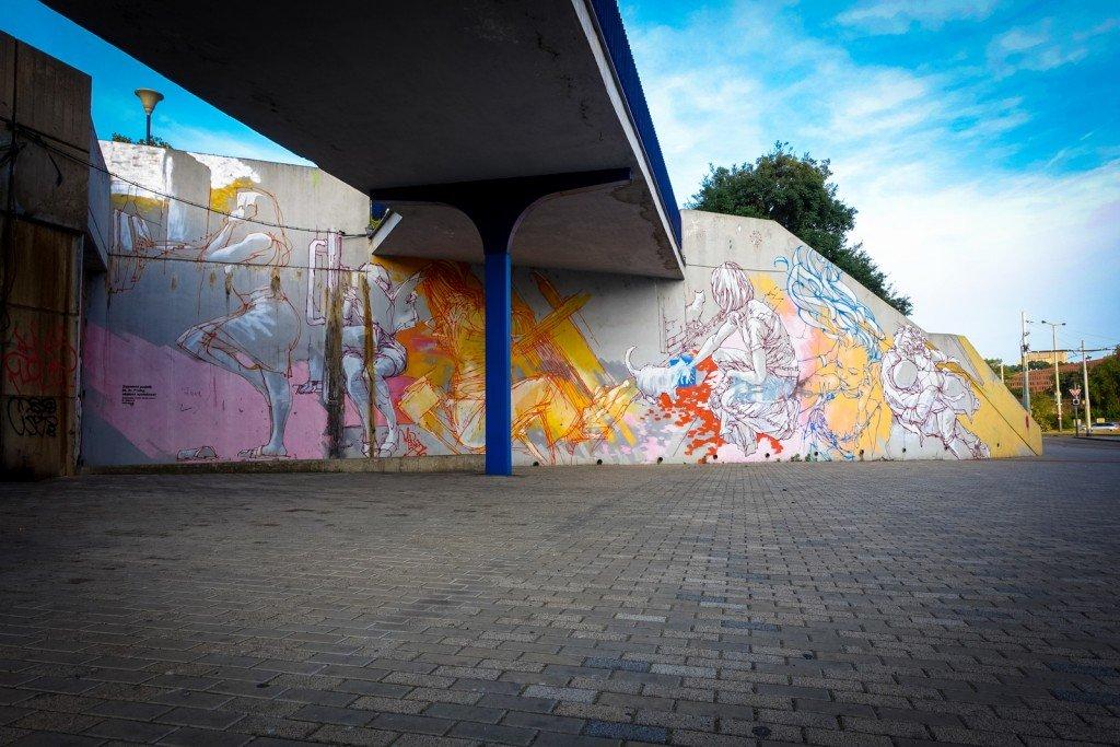 mural - mode 2 - prague, vltavská