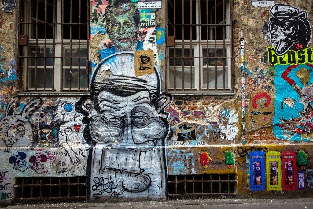 graffiti - derk - berlin, haus scharzenberg
