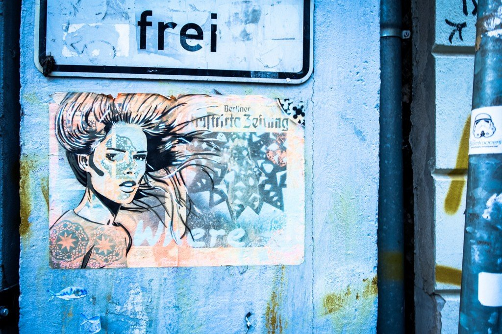 paste up - berlin, mitte