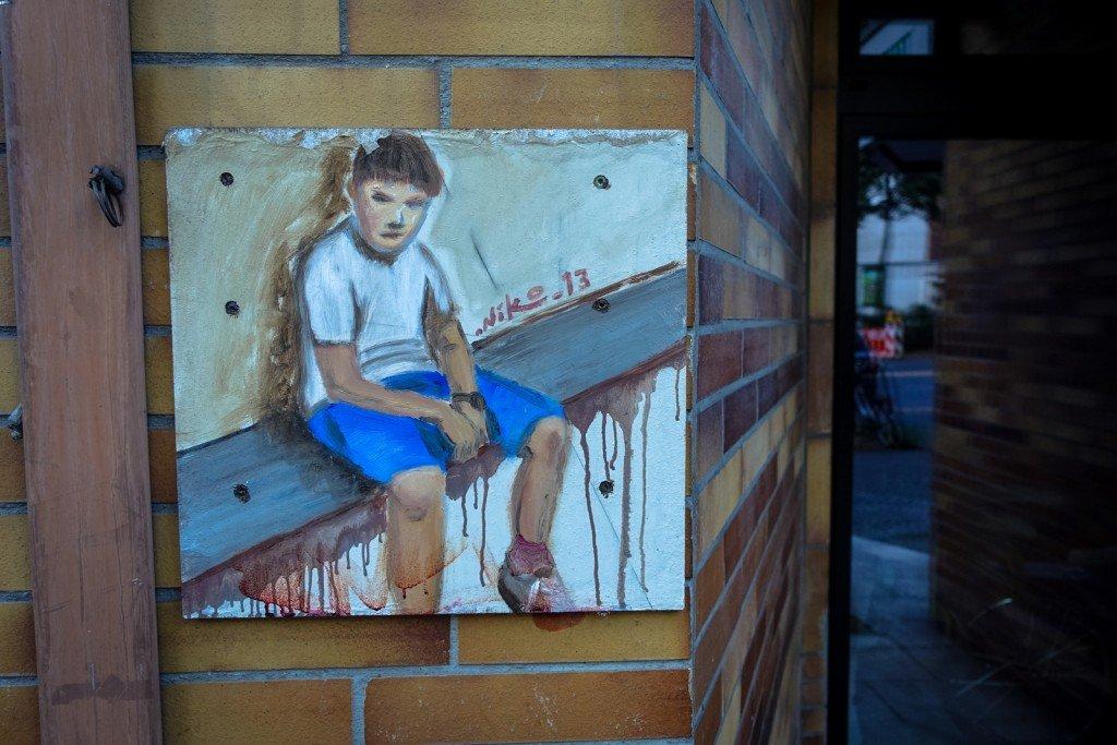 painting - niko - berlin, mitte