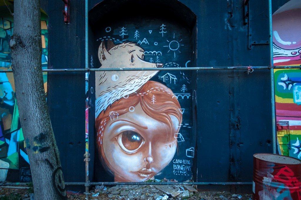 "urban art - caro pepe & boing - berlin, urban spree ""arcaden jam"