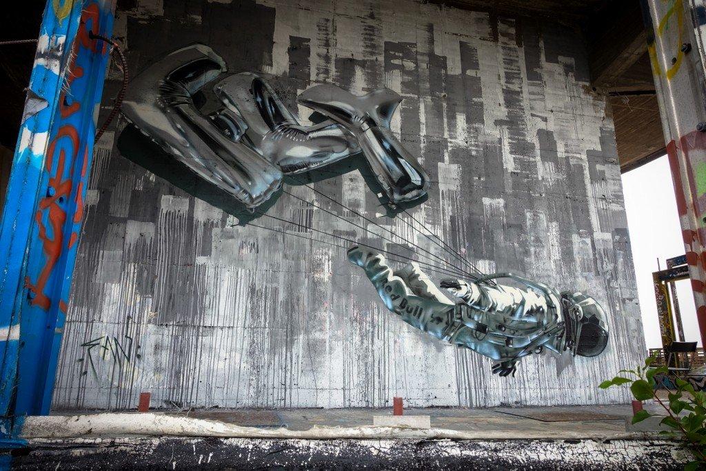 mural - fanakapan - berlin, teufelsberg