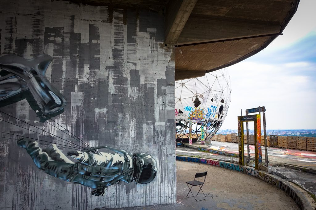 urban art gallery fieldstation teufelsberg berlin part 2 urbanpresents. Black Bedroom Furniture Sets. Home Design Ideas