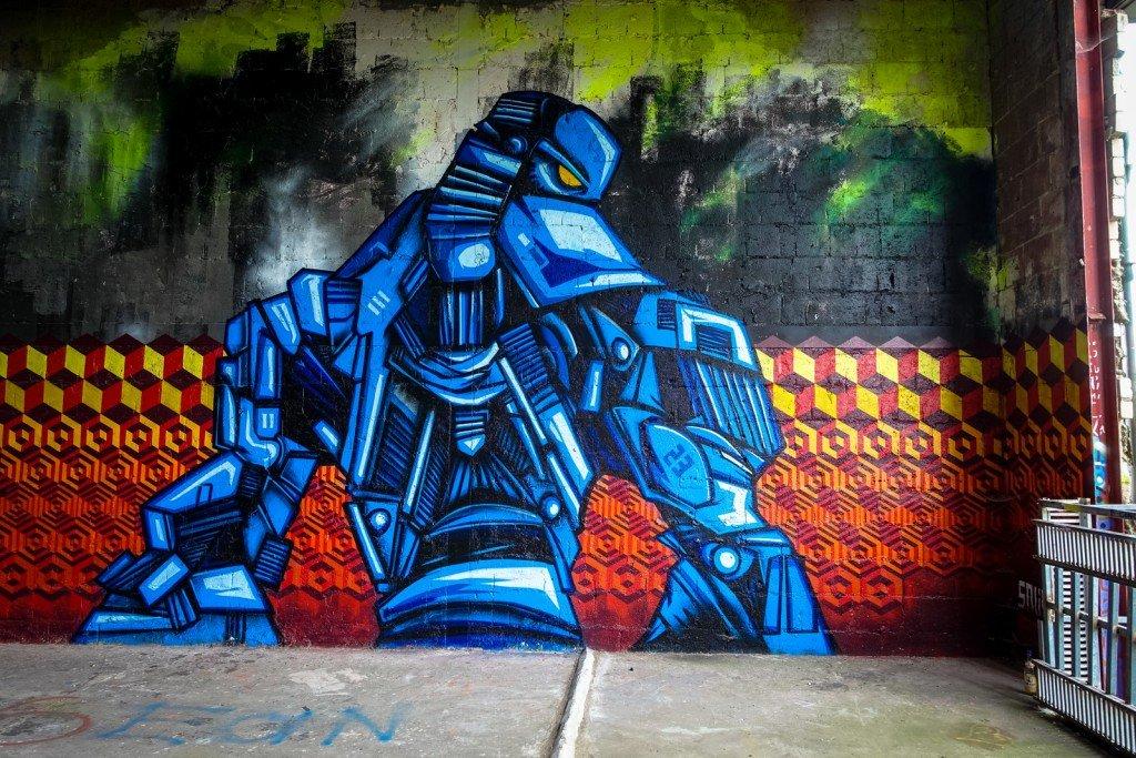 graffiti - snub23 - berlin, teufelsberg