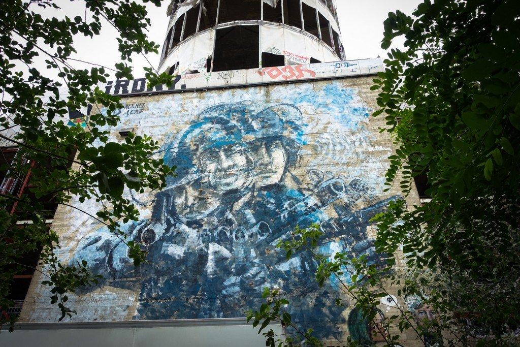 roller bombings - alaniz - berlin, teufelsberg