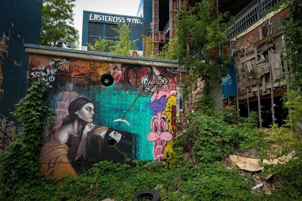 graffiti - sokar uno - berlin, teufelsberg