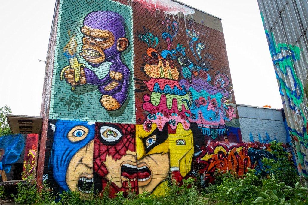 graffiti - berlin, teufelsberg