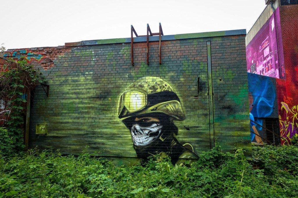 mural - plotbot ken - berlin, teufelsberg