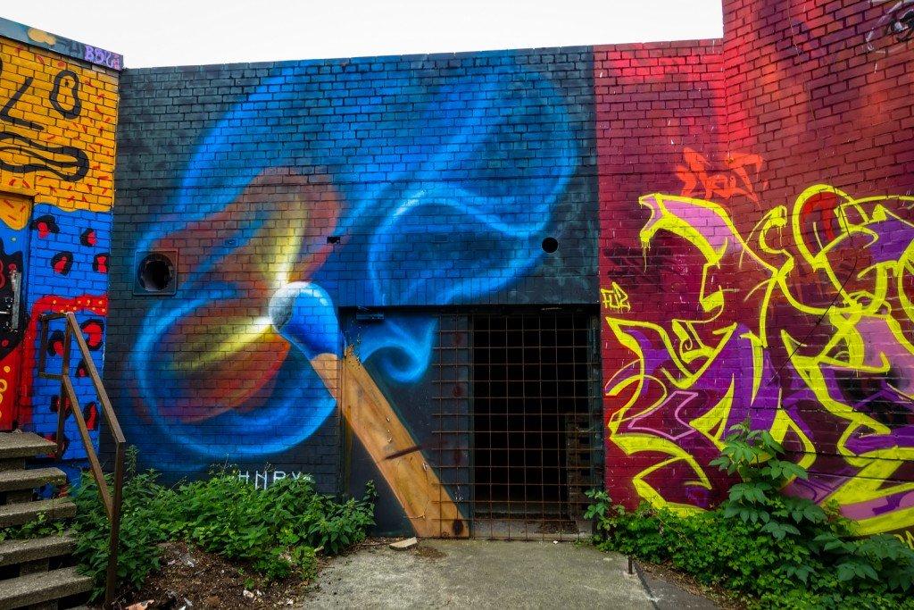 mural - hnrx - berlin, teufelsberg