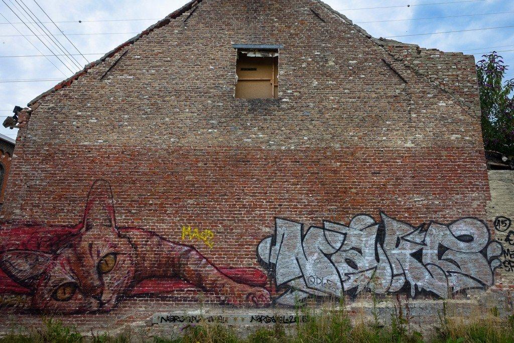 urban art - ghostvillage doel, belgium