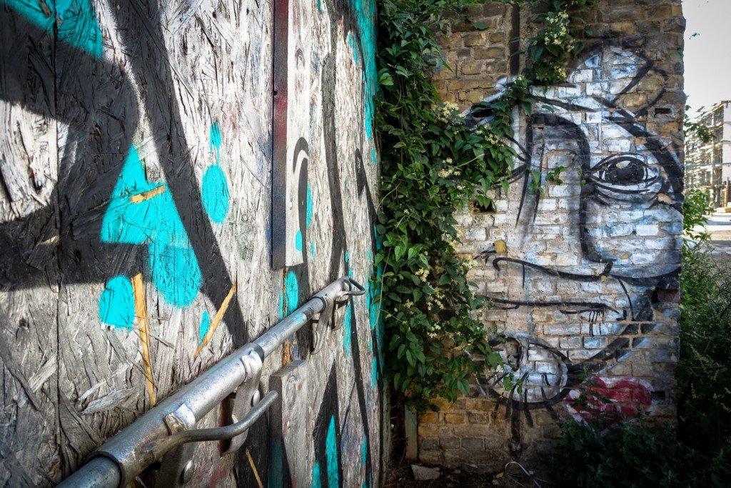 graffiti - derk - berlin, friedrichshain