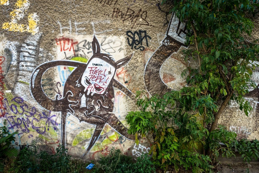 graffiti - berlin, friedrichshain