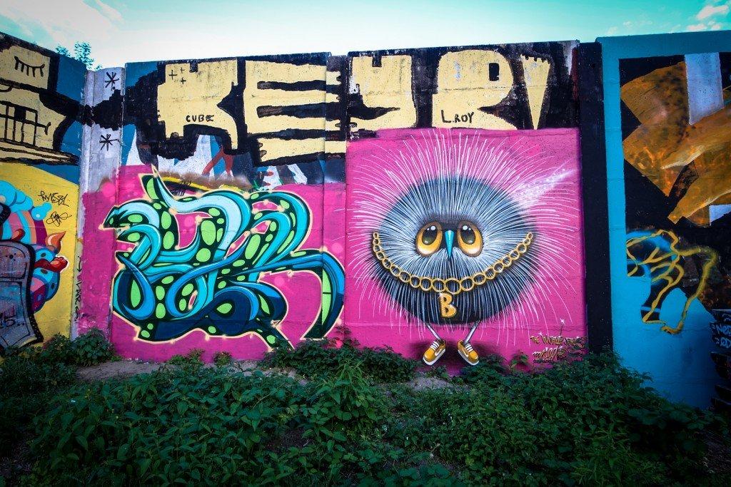 graffiti - mister sed - berlin, friedrichshain
