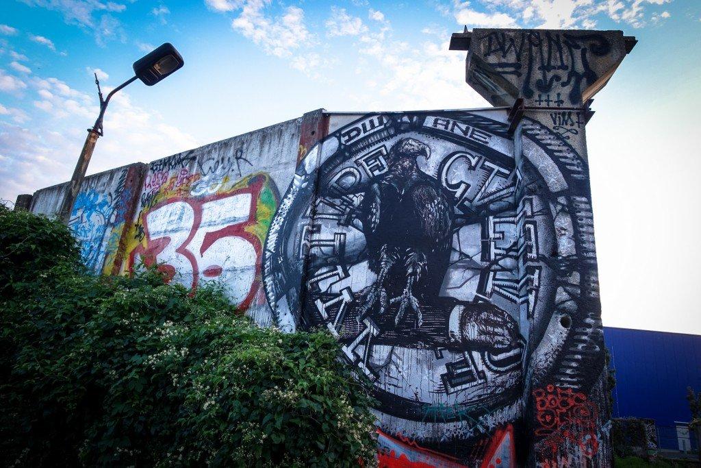 graffiti - dwane - berlin, friedrichshain